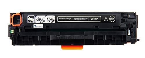 Metro Market Black Compatible HP CC530A 304A Toner Cartridge for HP Color Laserjet CP2025 CP2025N CP2025DN CM2320 CM2320N MFP CM2320NF MFP CM2320FXI MFP Printer Toner Ink