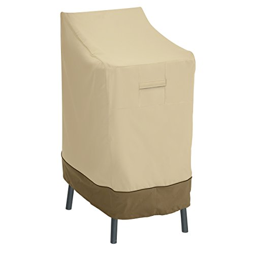 Classic Accessories Veranda Patio Bar Chair/Stool Cover - Durable and Water Resistant Patio Set Cover (55-642-011501-00)