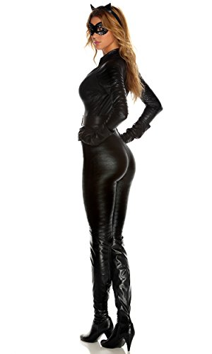 Forplay Costumes Fierce Feline Ears Mas Jumpsuit Belt Gloves - http://coolthings.us