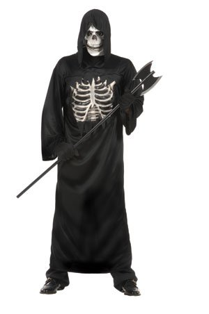 RG Costumes Dark Reaper Teen Costume - Dark Reaper Teen Costumes