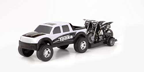 Tonka Off Road Hauler with Motorcycles
