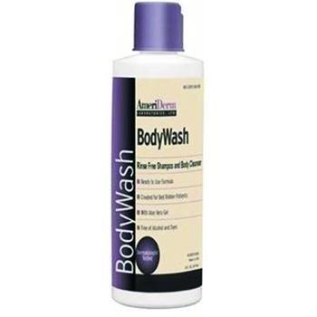 BodyWash Rinse Free Shampoo and Body Cleanser - 8 fl oz (237 ml) Bottle - 1 case (48 Each) ()