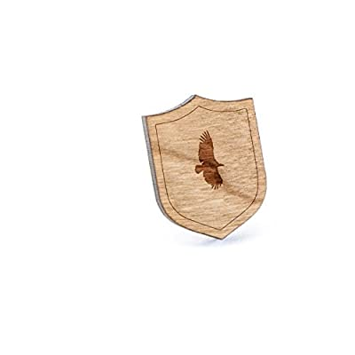 New Vulture Lapel Pin, Wooden Pin hot sale