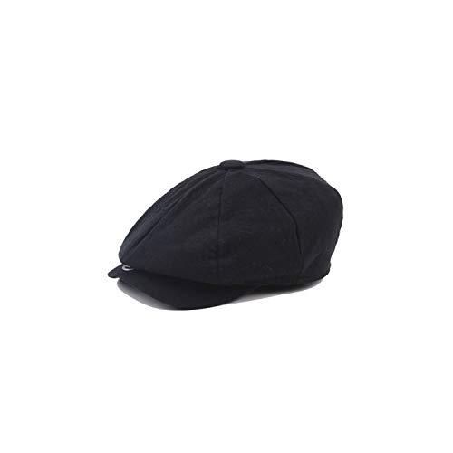 Newsboy Cap Men Cotton Hat Golf Flat Unisex ()