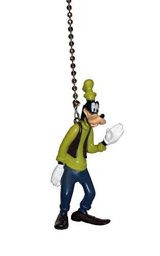 Walt DISNEY Classic Movie assorted Characters CEILING FAN PULL light chain (Goofy) ()
