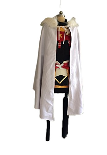 Nuoqi Anime Cosplay Unisex Astolfo Uniform Cosplay Costume Full Set by Nuoqi