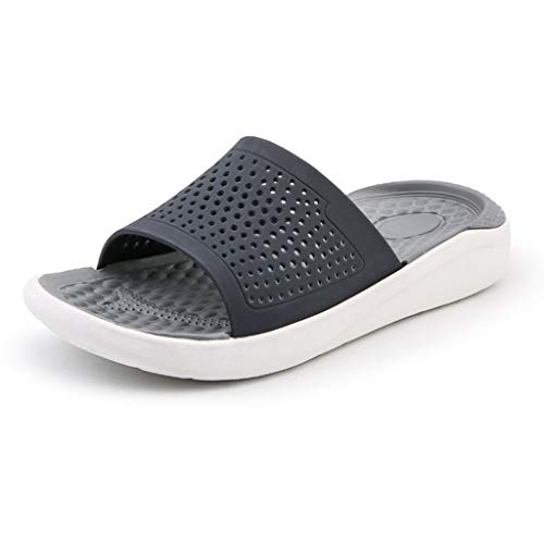 Mens Flats Shoes - Beach Sandals Hollow Out Casual Breathable Slippers,2019 New