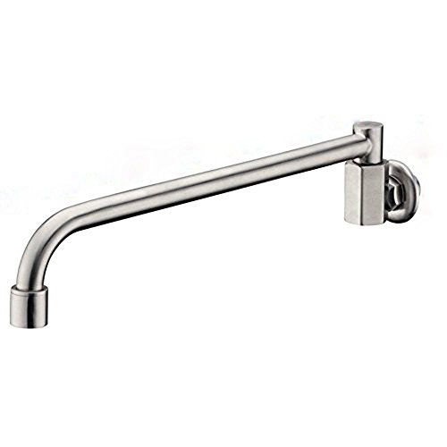 KunMai 304 Stainless Steel Wall Mounted One Hole Pot Filler Cold Only in Brushed Nickel -  B20430V
