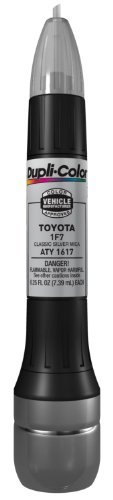 Scion Tc Paint - Dupli-Color ATY1617 Classic Silver Mica Toyota Exact-Match Scratch Fix All-in-1 Touch-Up Paint - 0.5 oz (0.25 oz. paint color and 0.25 oz. of clear)
