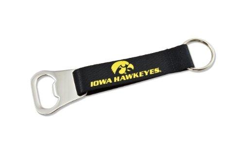 - NCAA Iowa Hawkeyes Bottle Opener Lanyard Key Ring
