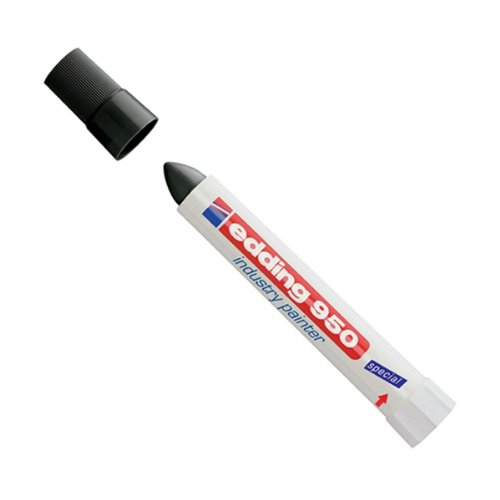 edding 4-950-1-1001 Spezialmarker 950 industry painter, 10 mm, schwarz