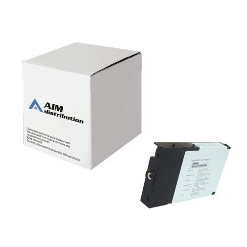 AIM Remanufactured Replacement for Stylus Pro 4000/7600/9600 Matte Black Pigment Inkjet (110 ML) (T543800-US) -