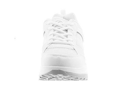 Eglemtek Estivo mod Minceur Pour Mapleaf Sport Grigio Chaussures Bianco être Homme Bien De Ux1Anq