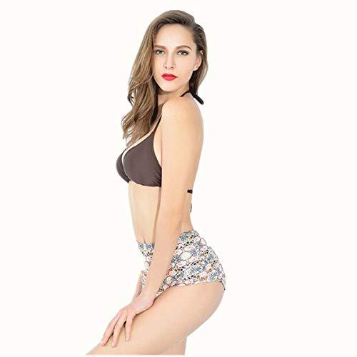 Diviso colore Zhrui Estivo bikini Da Donna Bagno Bikini S costume Dimensione zzqOXr