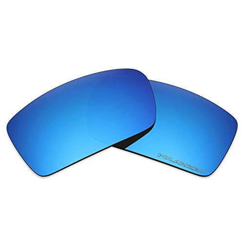 (Mryok+ Polarized Replacement Lenses for Oakley Gascan - Ice Blue)