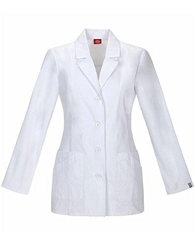 (Dickies EDS Signature Women's Princess Seam 29' Lab Coat X-Small White)