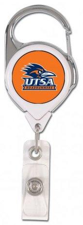 Wincraft Texas at San Antonio UTSA Roadrunners Premium Badge Reel Id Holder with 2 Sided Graphics