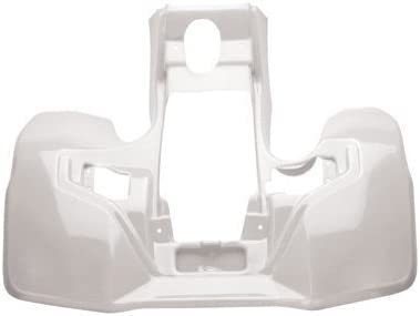 NEW SUZUKI LT500 QUADRACER WHITE PLASTIC FRONT FENDER LTR500 LT500R