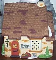 Department 56 ''Wrenbury Baker'' Retired Dickens Village