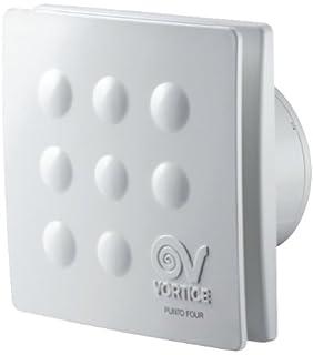 aspiratore elicoidale da muro vortice punto filo mf 90/3,5