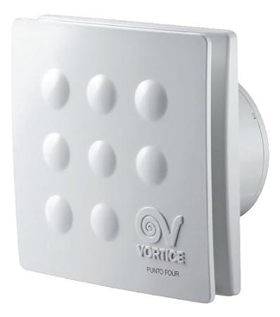 MFO100/4 11145 Aspiratori elicoidali da muro 10CM, Senza timer ...
