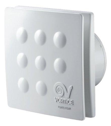 vortice aspiratore bagno  MFO100/4 11145 Aspiratori elicoidali da muro 10CM, Senza timer ...