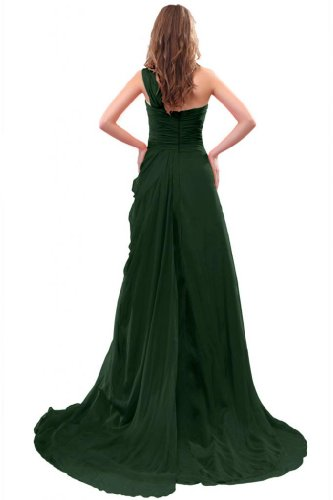 Sweetheart One Sunvary tracolla A Dark Green abito da lungo Chiffon linea sera 7ddwxqa