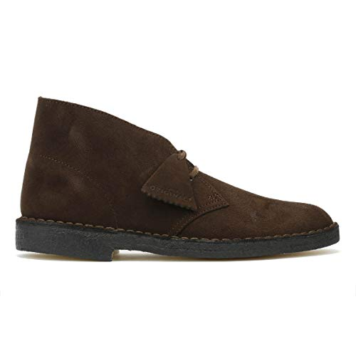 Desert Boot Pour Cuir Véritable Chaussures Brown Marron Homme 26128538 Clarks Dentelle En SdwdZ
