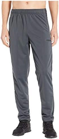 [adidas(アディダス)] メンズパンツ・長ズボン・ジャージ下 Essentials 3-Stripe Tricot Open Hem Pants Dark Grey Heather/Solid Grey/Black XL [並行輸入品]
