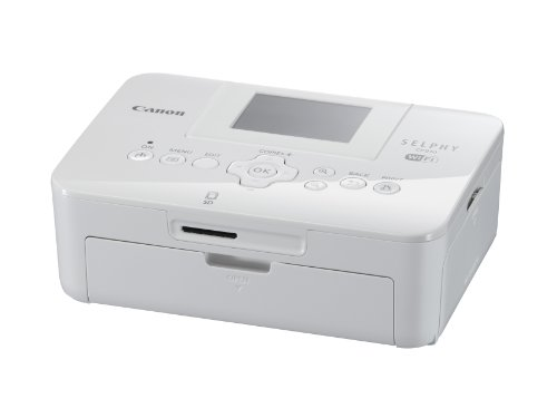 Canon SELPHY CP910 Portable Wireless Compact Color Photo Printer, White (Discontinued By Manufacturer)