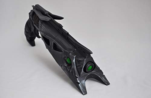Designed By Thorn Hand Cannon Prop Free Destiny Banner, has Moving Ammo, Plastic Light and Durable. Safe, Does not Shoot