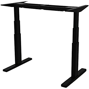 Amazon Com Vivo Black Electric Stand Up Desk Frame