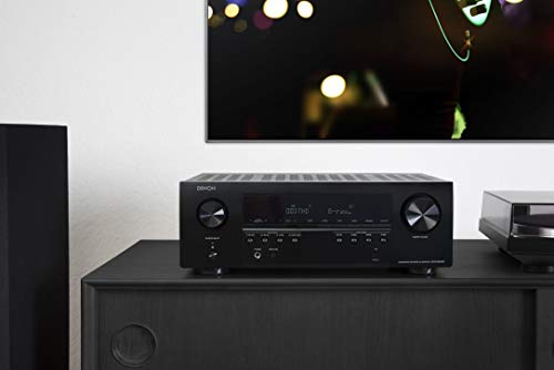 Denon AVR-S640H Audio Video Receiver, 5.2 Channel 4K Ultra HD Home Theater Surround Sound and Music Streaming System - Wi-Fi, Bluetooth, Airplay, Alexa and HEOS Wireless Speaker Expansion Built In by Denon (Image #5)