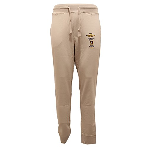 Beige Pantaloni 9851t Men Aeronautica Tuta Militare Sabbia Sweatpant Uomo wYn6qxng