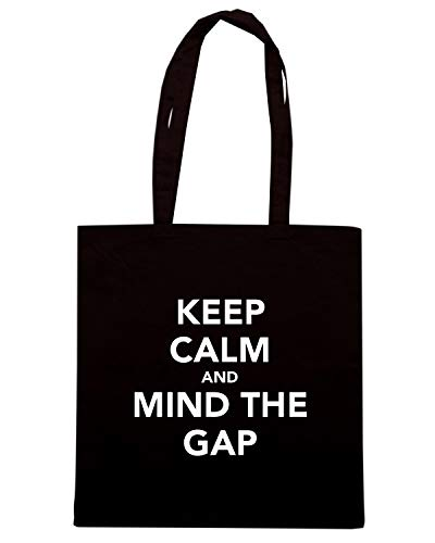 KEEP Shirt CALM THE TKC2779 Borsa GAP Speed MIND Nera AND Shopper HTxdXxqw