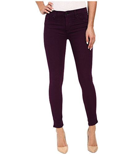Hudson Women's Nico Mid-Rise Ankle Skinny in Rhubarb Rhubarb Jeans 32 by Hudson Jeans