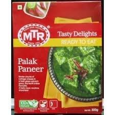 MTR Ready-to-eat Variety Pack - Palak Paneer - 300g / Shahi Paneer - 300g / Paneer Butter Masala - 300g (Total of 3 Packs) by MTR