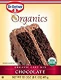Oetker Organic Cake Mix Chocolate - 16.1 ounce each -- 12 per case. by Dr. Oetker