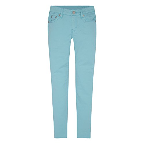 Levi's Girls' 710 Super Skinny Fit Soft Brushed Jeans, Antigua Sand, 6 -