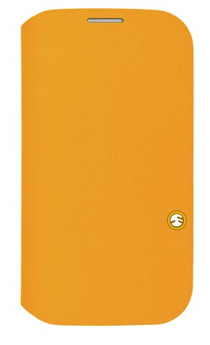 SwitchEasy Flip Folio Case for Samsung Galaxy S4 - Retail Packaging - Tanned Yellow