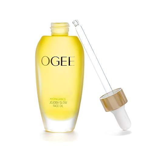 Ogee Jojoba Glow Face Oil – Organic & Natural, Moisturizing, Anti-Aging Facial Oil (30ml)