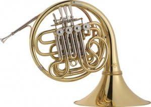 Para corno francés doble F disfraz J Michael Full/Bb Inc: listo ...
