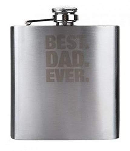 Best DAD Ever Petaca de acero inoxidable para el día del ...