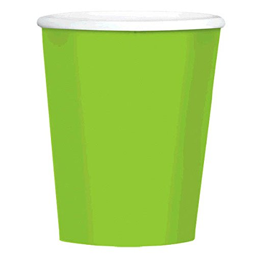 Big Party Pack Paper Coffee Cups | 12 oz. | Kiwi Green | Party Supply | 480 ct.