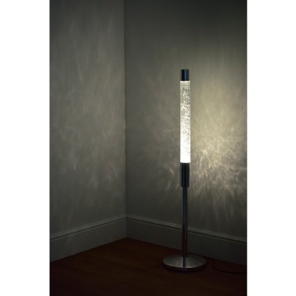 promo code 4b2e0 c2d03 All New Stunning Vintage Floor Glitter Lava Lamp - Silver
