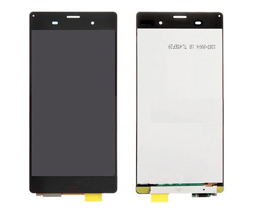LCD display Touch Screen Digitizer Assembly for Sony Xperia Z3 D6603 D6643 D6653 L55u L55t with free tools (Black) ()