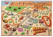 Cars3 Radiator Springs Play Area Rug