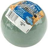 "Bulk Buy: Floracraft Wet Foam Ball 4"" 1/Pkg Green FNBA4/1S (6-Pack)"