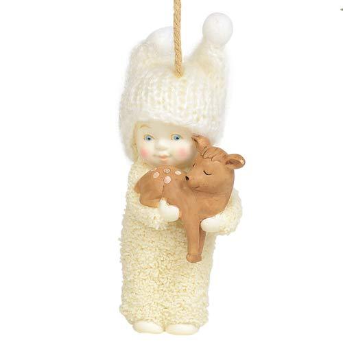 "Department 56 Snowbabies Peaceful Kingdom Deer Hanging Ornament, 3"", Multicolor"