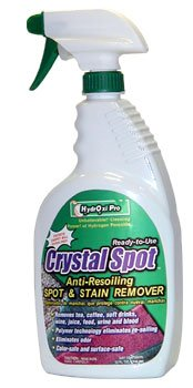 HydrOxi Pro Encapsulating Spotter (aka Crystal Spot) Anti-Resoiling Spot and Stain Remover 32 oz. RTU